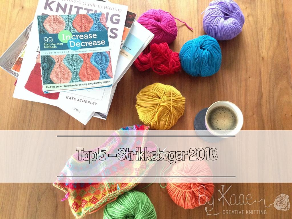 nye strikkebøger 2016