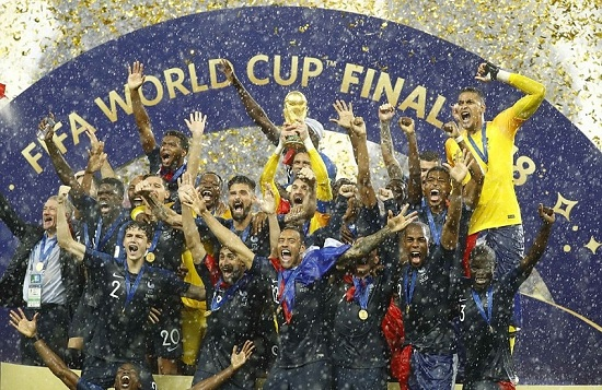 Nước Pháp vô địch World Cup 2018