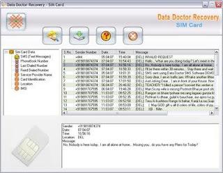 استعادة الملفات المحذوفة من خط التليفون Sim Card Data Recovery Software V3.0.1.5