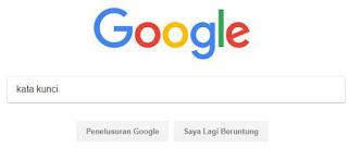 search keyword di google