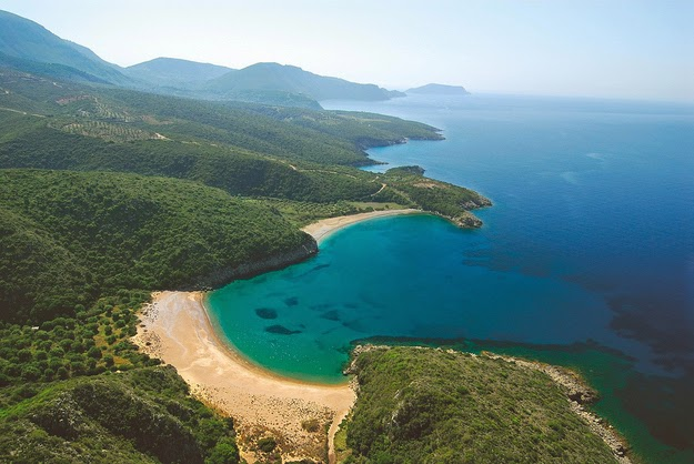 …ludicrously… (The western coast of Greece's Peloponnese region.) - 49 Reasons To Love Hellas (Greece)
