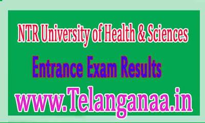 NTRUHS BUMS Entrance Exam Results