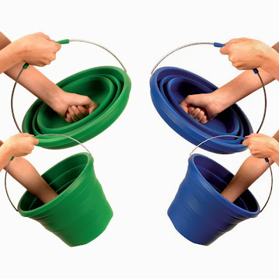 Space Saving Ideas For Home - Foldable Bucket