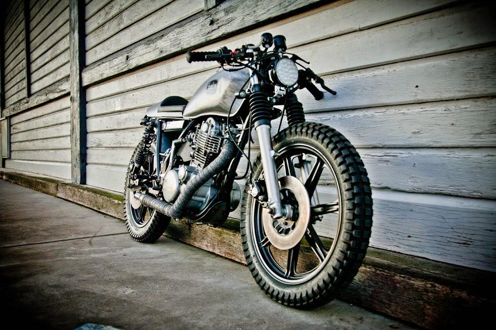 yamaha sr400 cafe racergasoline custom motorcycles