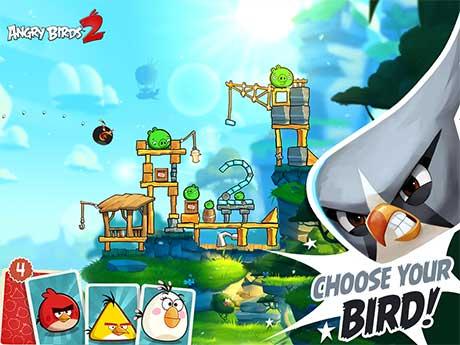 nah pada kesempatan kali ini aku akan share sebuah game android terbaru dari Rovio Enter Angry Birds 2 Mod Apk v2.21.0 (Unlimited Gems+Lives)