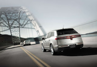 Lincoln MKT, viewed from the rear.