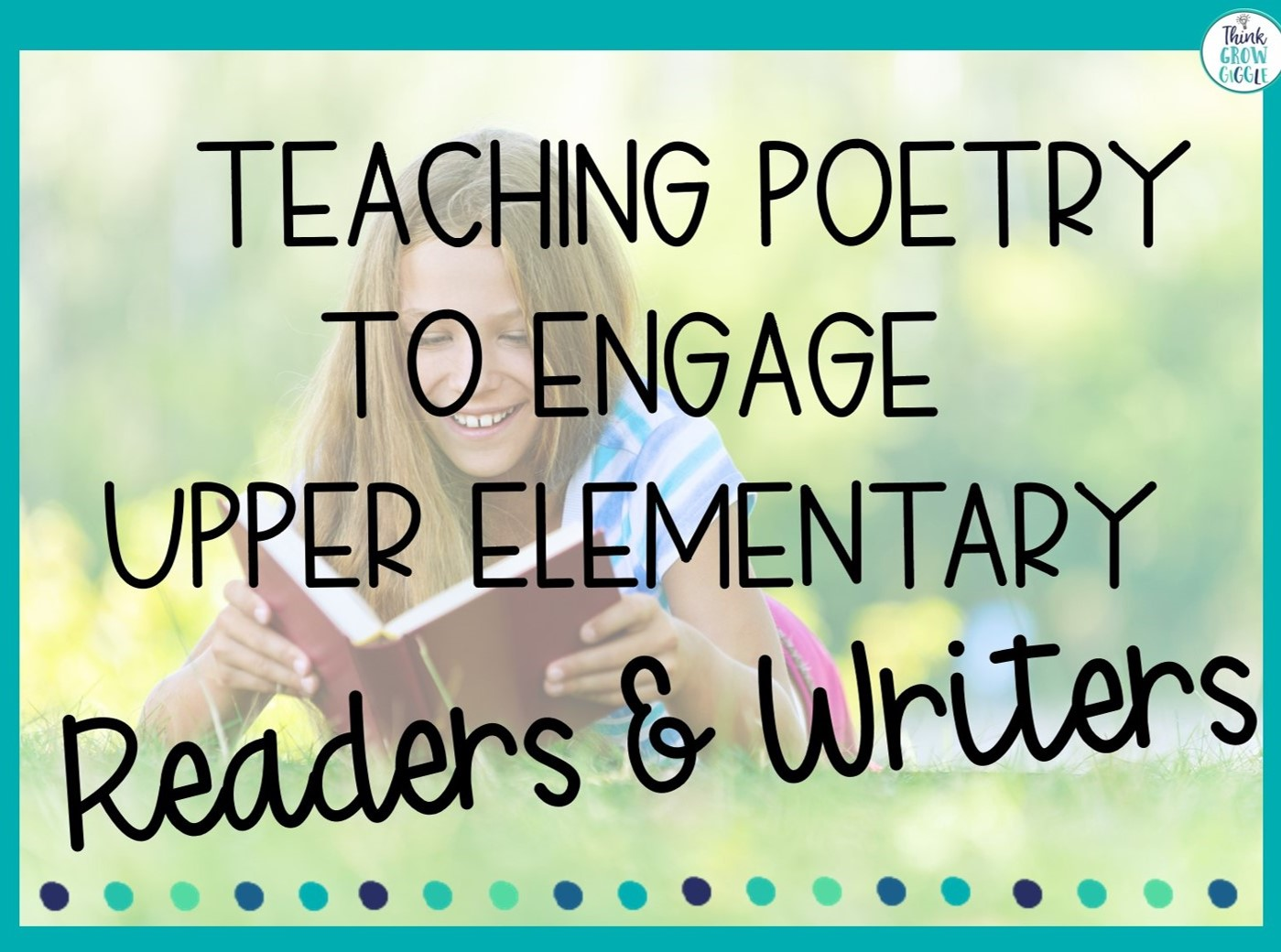 how to teach poetry to elementary students