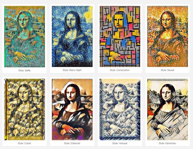 Neural Painter Filters