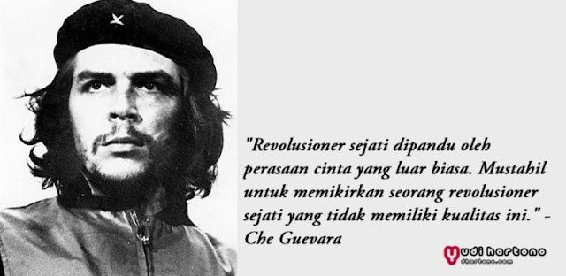 Kata Bijak Che Guevara Tentang Revolusi dan Perjuangan