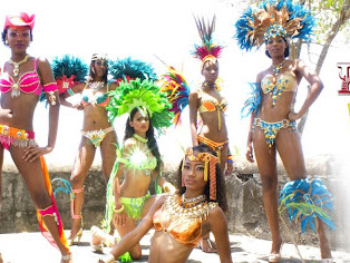 St.Lucia Carnival 2012 - Red Unlimited Platinum VIP Costume Pictures