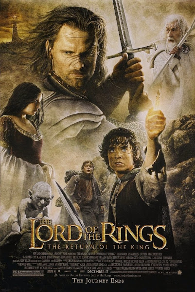 Poster of The Lord of the Rings 3 (2003) Extended 720p Hindi BRRip Dual Audio
