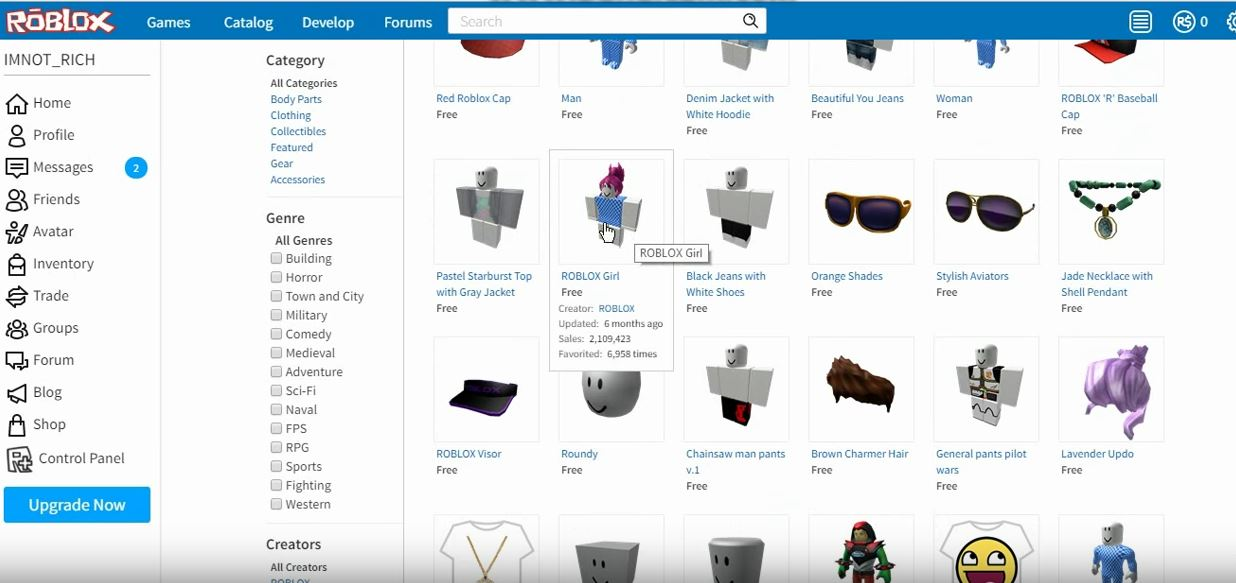 ROBLOX - HOW TO LOOK RICH FOR FREE!