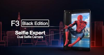 Sambut Film Spiderman Oppo F3 Resmi Merilis Versi Black Edition
