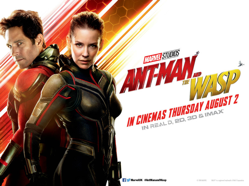 ANT-MAN AND THE WASP uk poster