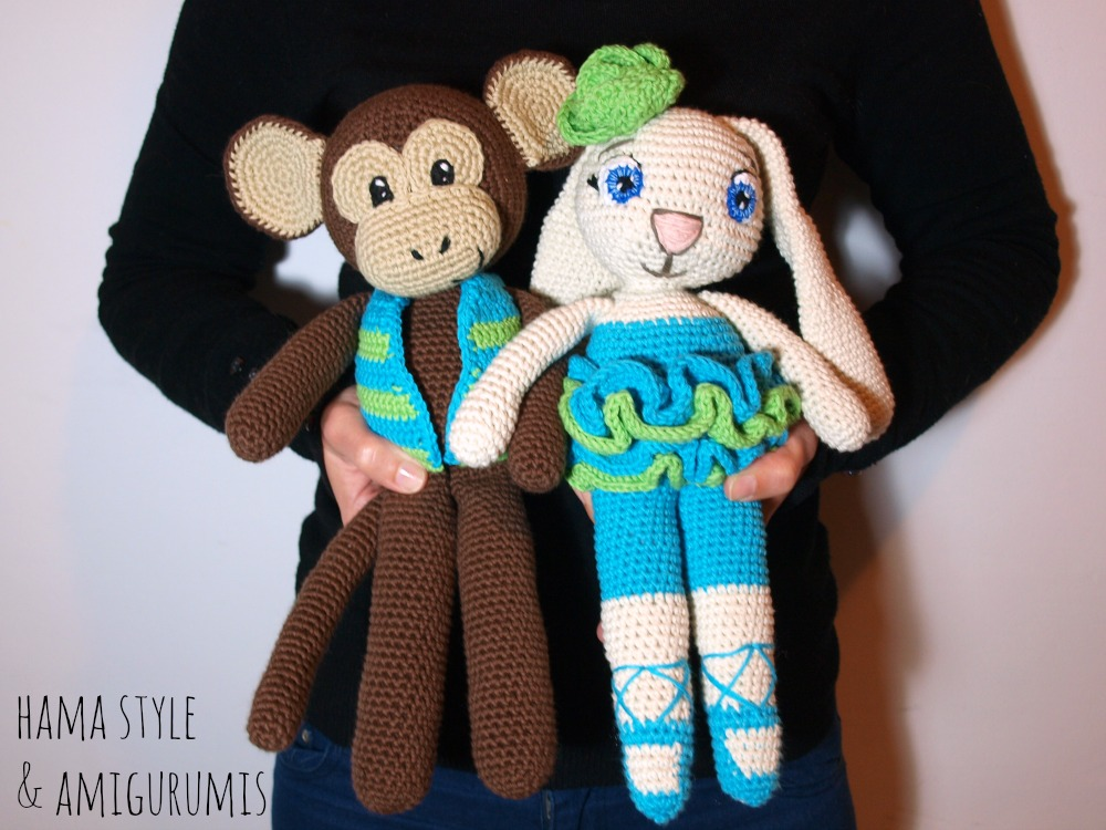 Marta Ruso Crochet Creativo: Conejita con tutú [PATRÓN GRATIS]