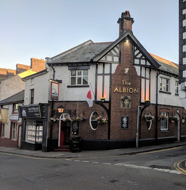 Where to drink in Conwy North Wales: The Albion