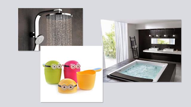 peralatan rumah tangga modern kamar mandi