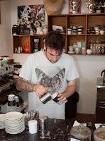 Demonstration on Latte Art