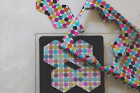 Die cutting fabric - Laura