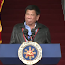 Duterte empowers Filipinos in speech during PMA homecoming