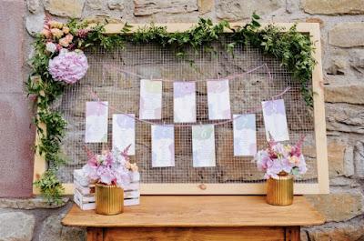 Lista de invidados y orden en las mesas en una ceremonia