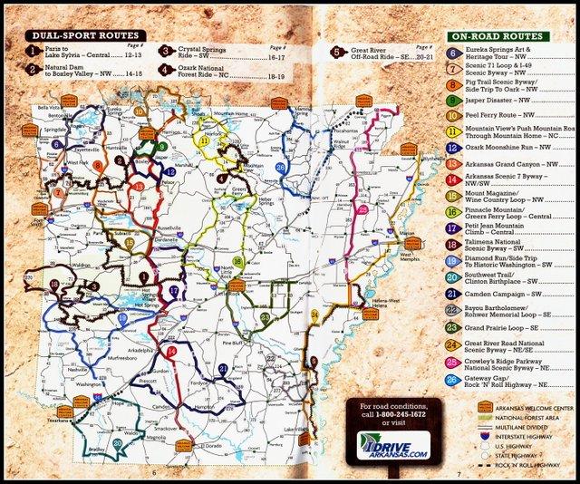 Motorcycle Roads In Arkansas | Reviewmotors co