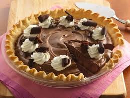 Chocolate Pie dengan Toasts