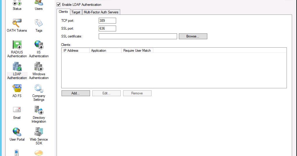 Wave16 com: Using Azure MFA Server as an SSL LDAP Proxy