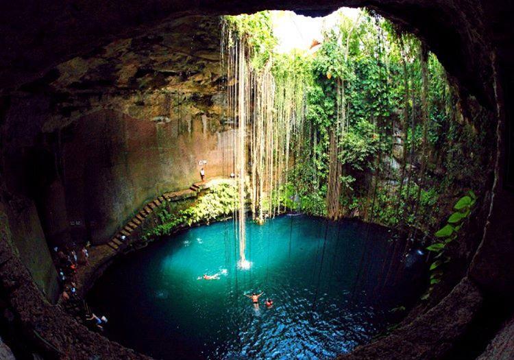 Cenote Ik Kil, Mayalar tarafından şifa bulmak ve dini  ritüellerini gerçekleştirmek amacıyla kullanılıyordu.