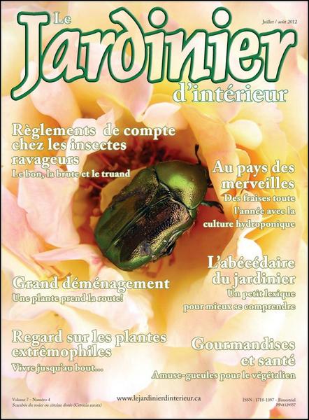 Le Jardinier d'Interieur N°4 Vol 07 - Juillet-Aout 2012 [Lien Direct]