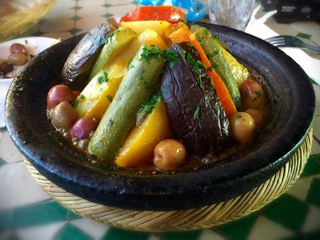 Tajine de bœuf et légumes