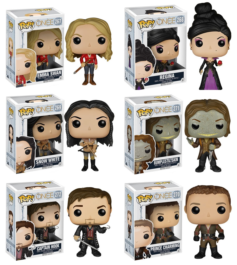 644a214008e The Blot Says...  Once Upon A Time Pop! Vinyl Figure Series by Funko