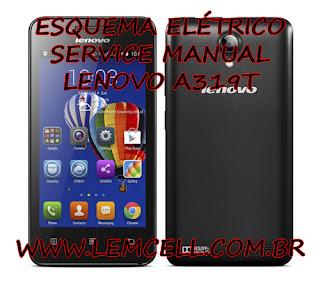 Esquema Elétrico Smartphone Celular Lenovo A319 Manual de Serviço Service Manual schematic Diagram Cell Phone Smartphone Lenovo A319