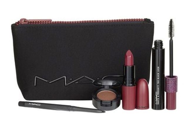 Nordstrom Anniversary Sale: MAC 'Look in a Box - Sassy Siren' Burgundy Lip & Eye Kit