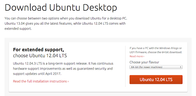 Download do Ubuntu