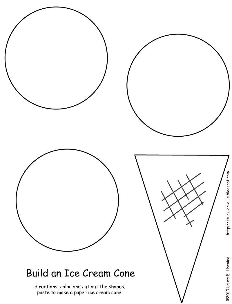 image about Ice Cream Cone Template Printable named Cone Template Printable. 15 ideal shots of printable do-it-yourself