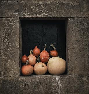 Samain Pumpkins / Samhain Blessings 2018, Mandragoreae by Victoria Francés.