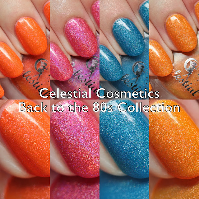 Celestial Cosmetics Back to the 80s Collection