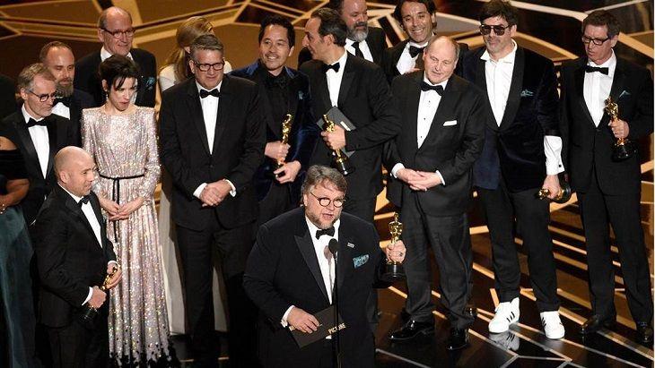 الفائزين بجوائز الأوسكار لعام Oscars 2018 شكل الماء