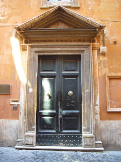 Photo of entrance door to Conservatorio di Santa Cecilia