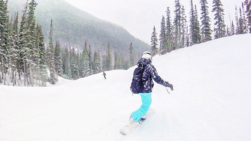 {My Bucket List} Snowboarding on the Rockies at Banff, Alberta