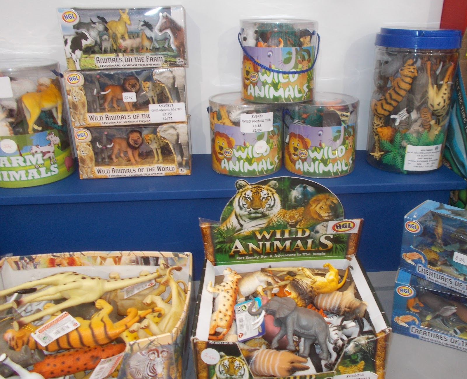 Toy Models Product : T is for toy fair reports hgl other wildlife