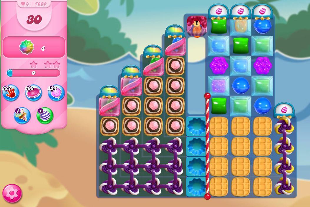 Candy Crush Saga level 7639