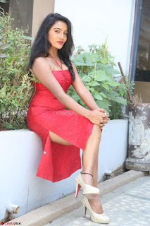 Mamatha sizzles in red Gown at Katrina Karina Madhyalo Kamal Haasan movie Launch event 034.JPG