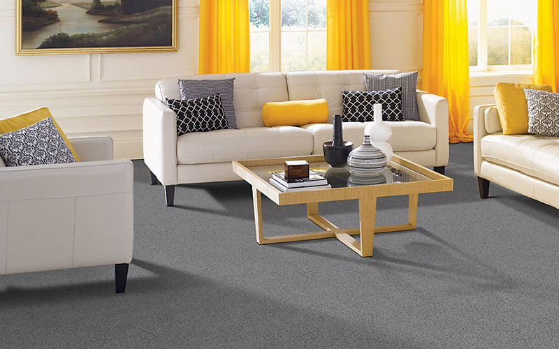 Practical, beautiful carpet makes this room comfortable and bright