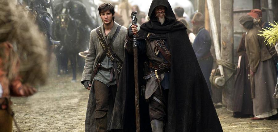 Jeff Bridges şi Ben Barnes în filmul fantasy Seventh Son