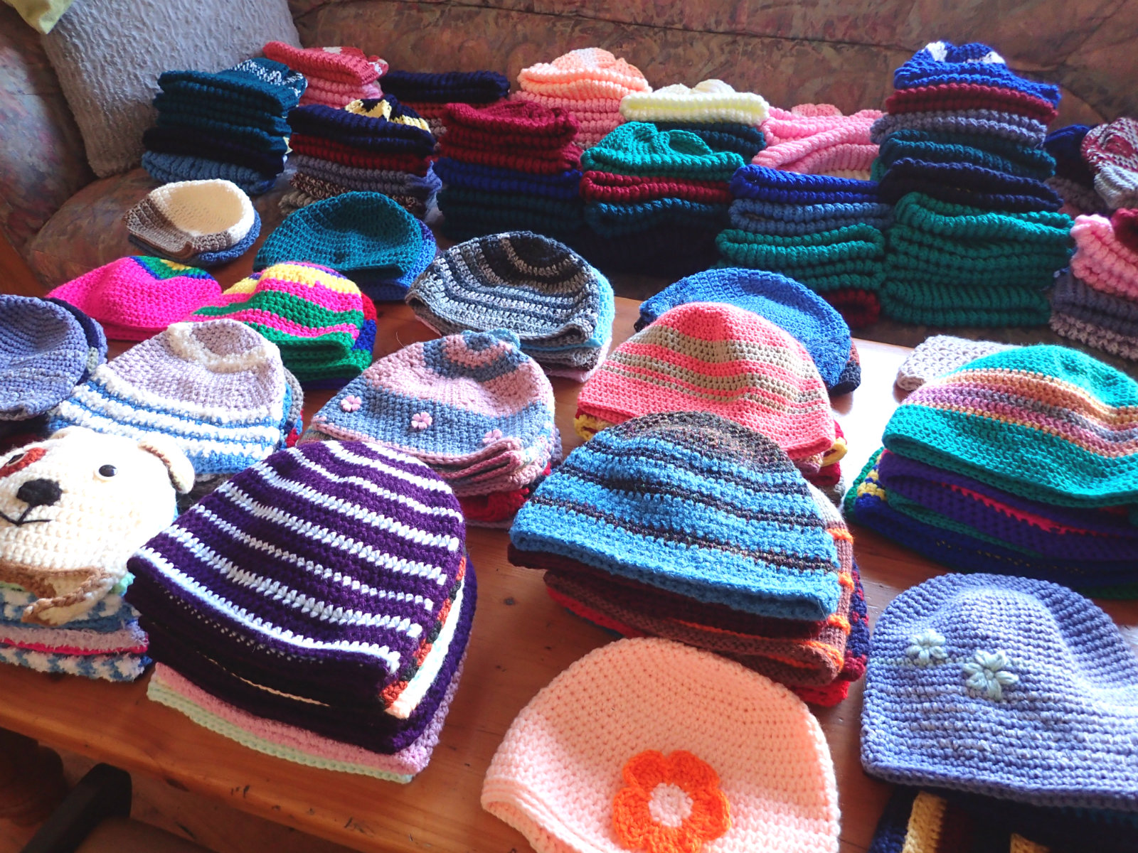 78d3c4ddb084e We re going to put beanies on each child s desk so that they have a lovely  surprise waiting for them on Tuesday morning. I ll go along then too to get  ...