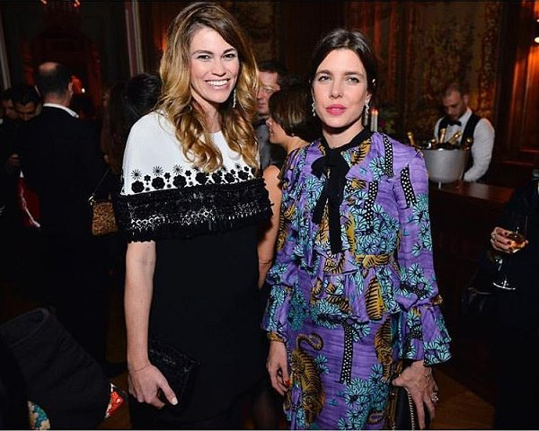 Charlotte Casiraghi attends Vanity Fair France Dinner ...