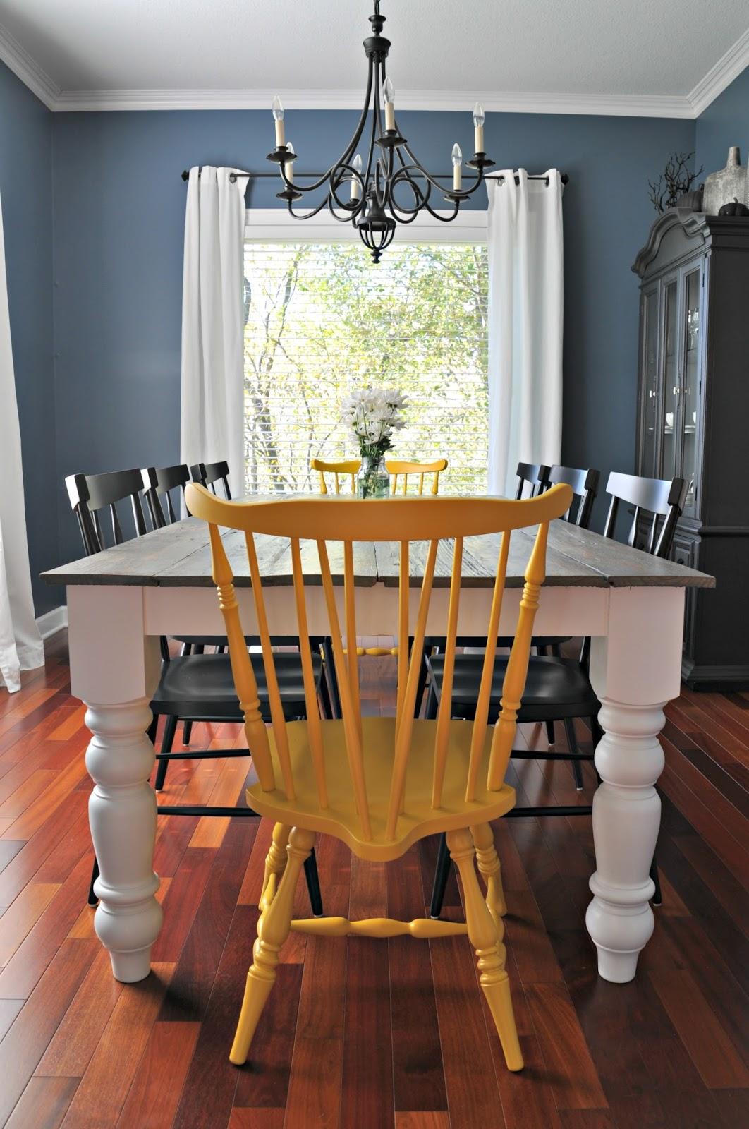12 Beautifully Rustic DIY Farmhouse Tables   Little House ...