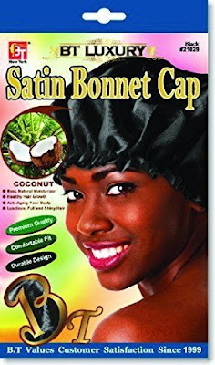 Beauty Town satin bonnet